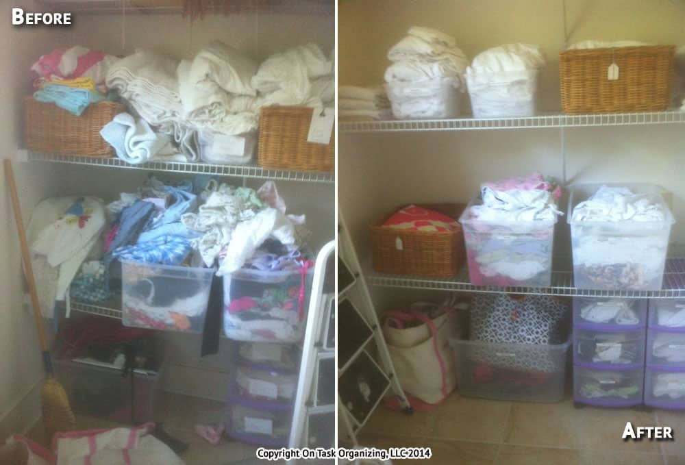 Before And After Photos On Task Organizing Professional
