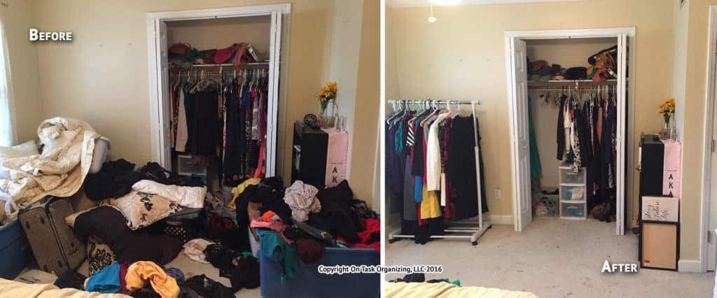 Before Amp After Photos On Task Organizing Professional