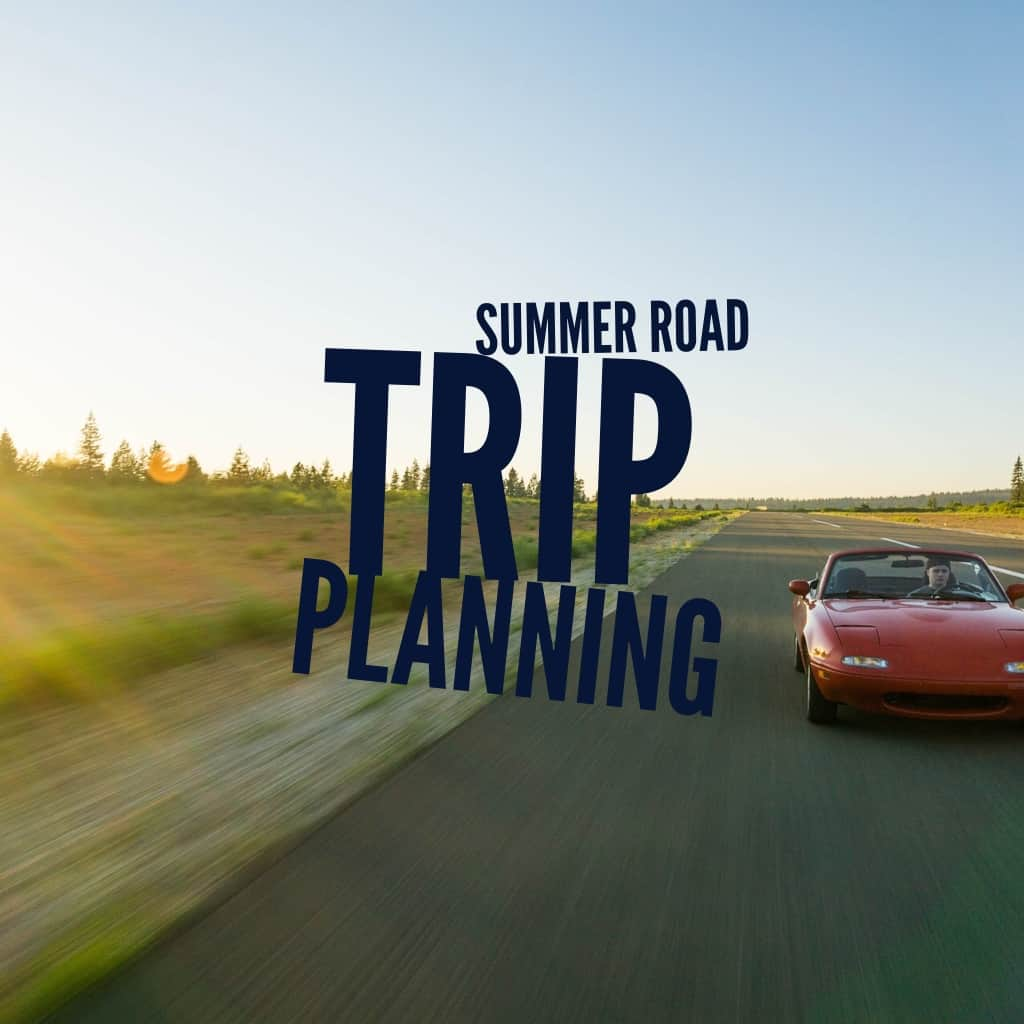 Title page- summer road trip planning