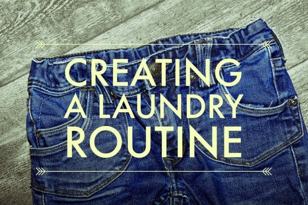 Creating a Laundry Routine Title Image