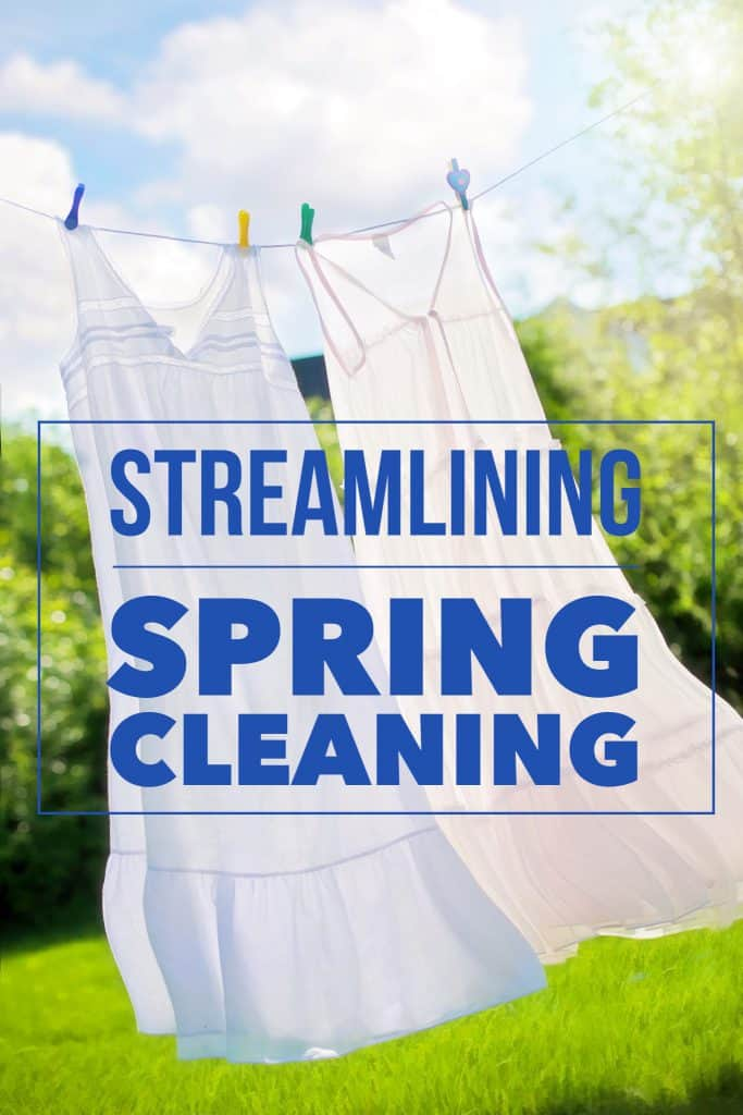 Title streamlining spring cleaning