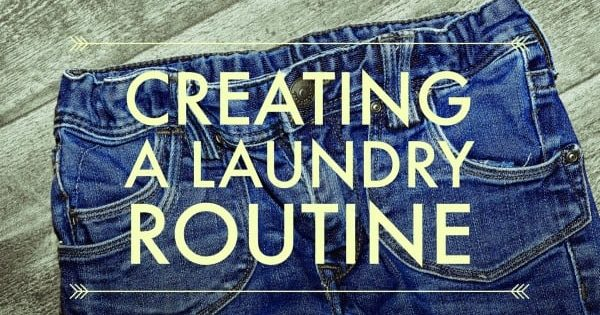 Creating a Laundry Routine | On Task Organizing
