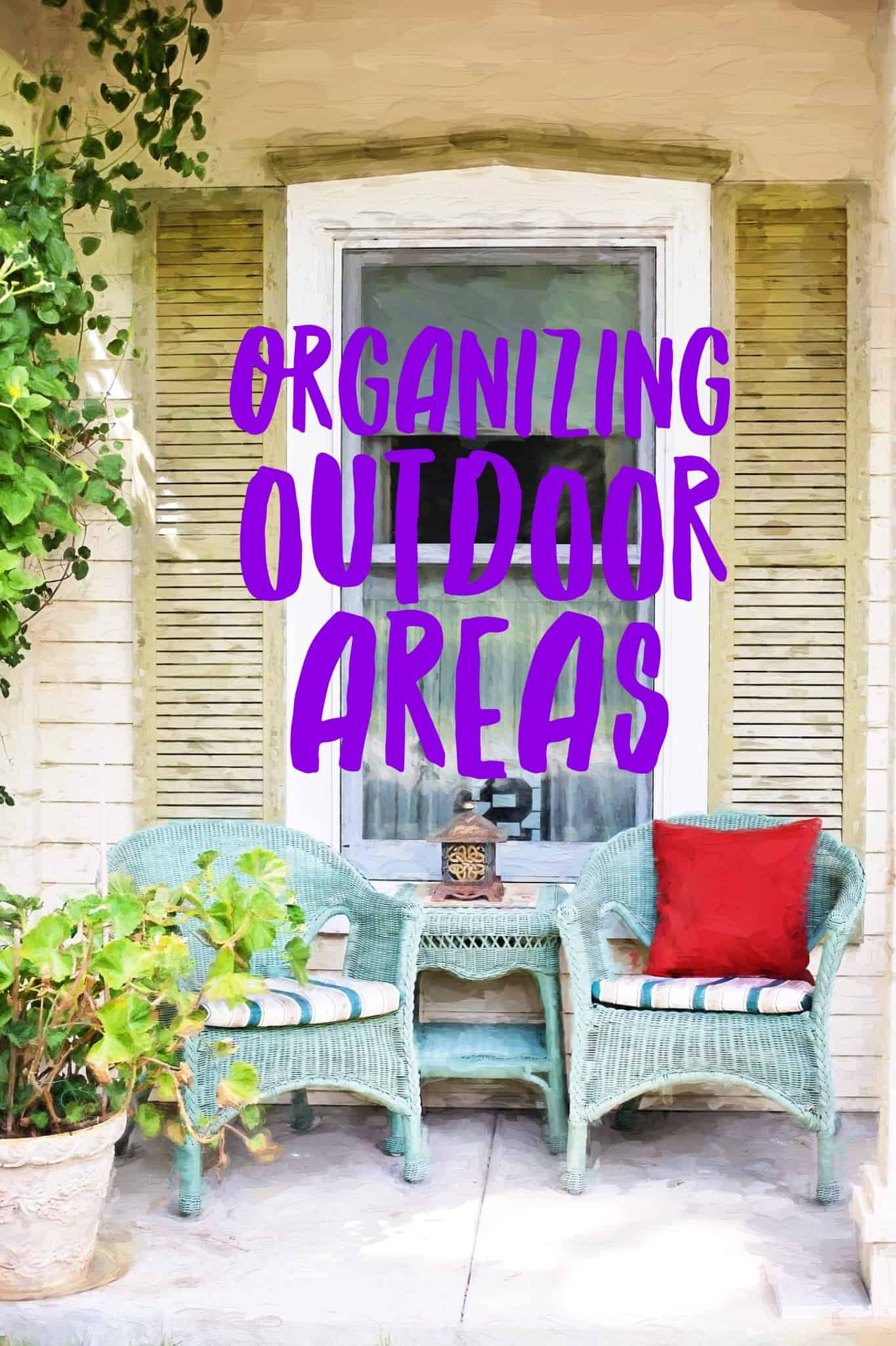 Organizing Outdoor Areas Title