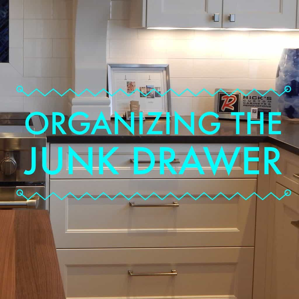 Organizing the Junk Drawer title