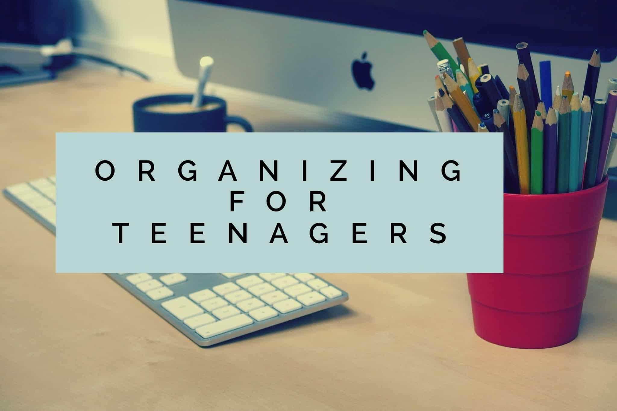 Organizing for Teenagers title