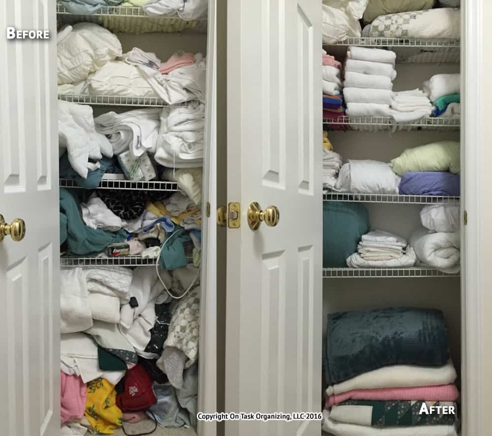 Before & After Photos On Task Organizing, Professional