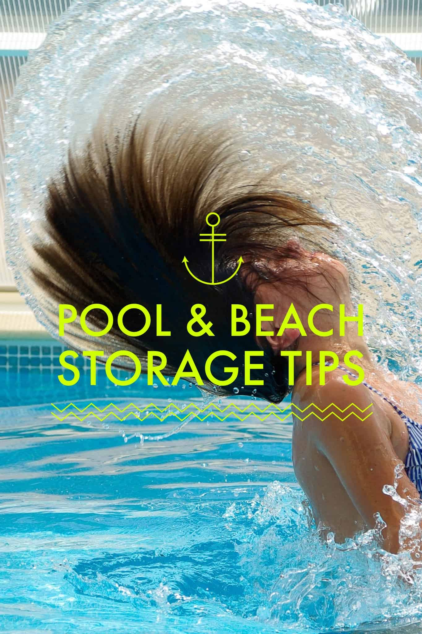 Pool & Beach Storage Tips Title