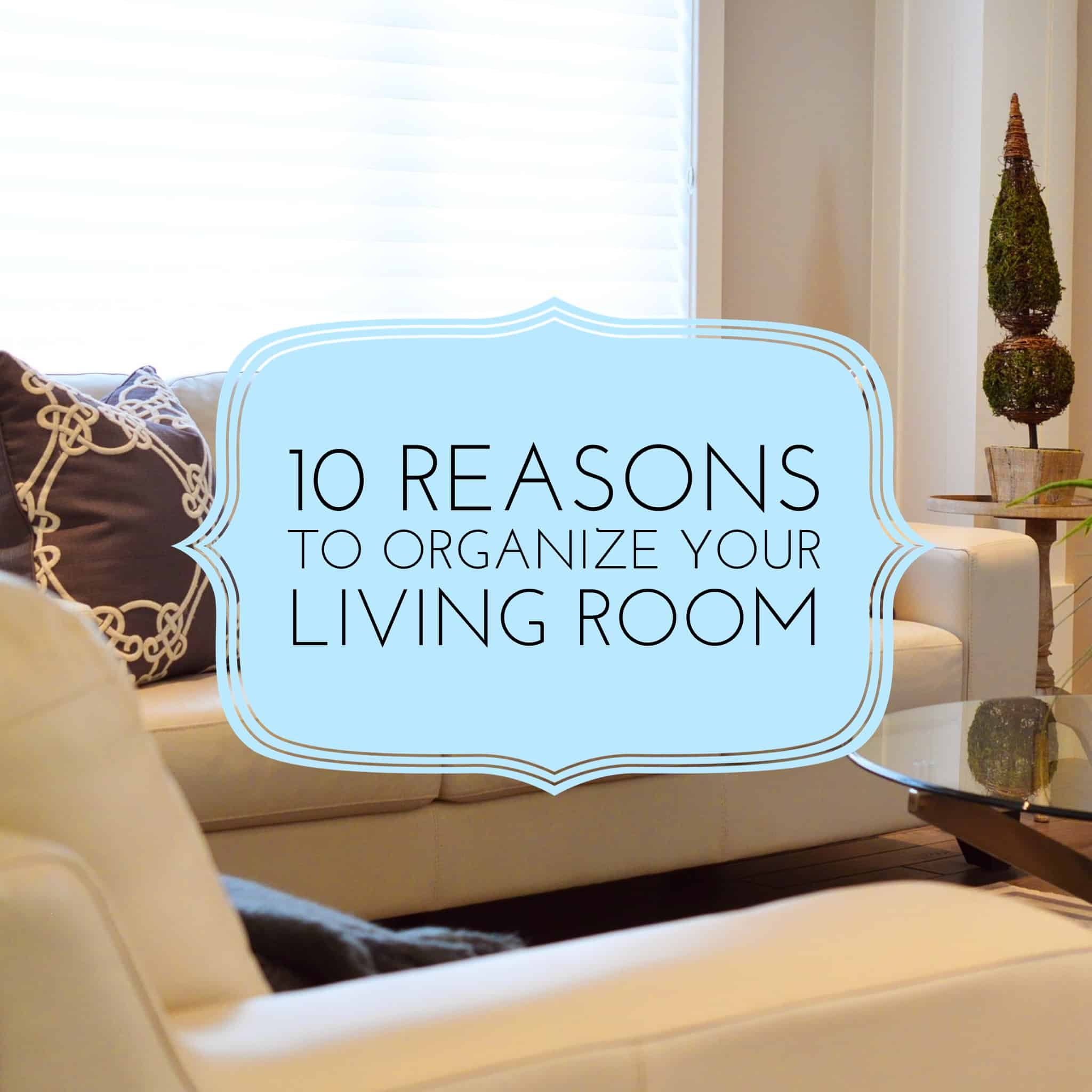 10 Reasons To Organize Your Living Room On Task Organizing